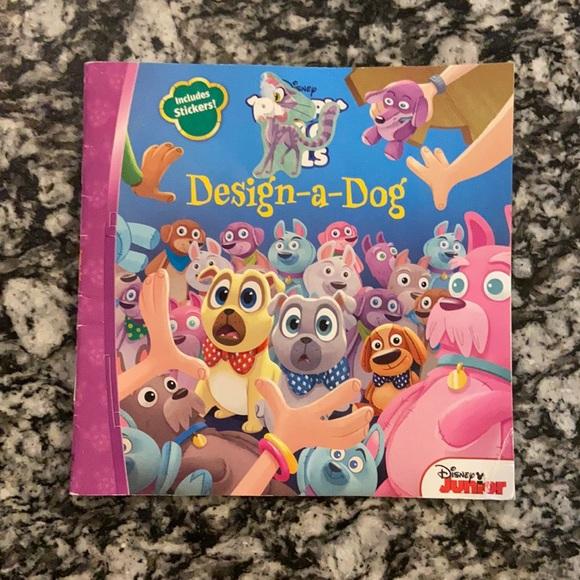 Disney Puppy Dog Pals Book.